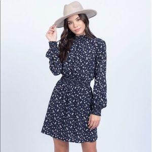 Everly Navy Mini Dress